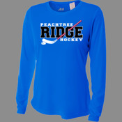Ridge - NW3002 A4 Ladies' Long Sleeve Cooling Performance Crew Shirt