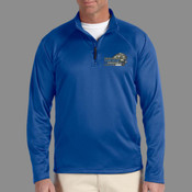 Logo - DG440 Devon & Jones Men's Stretch Tech-Shell® Compass Quarter-Zip